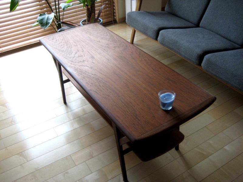 コーヒーテーブルに必要なのはデザインと中板。