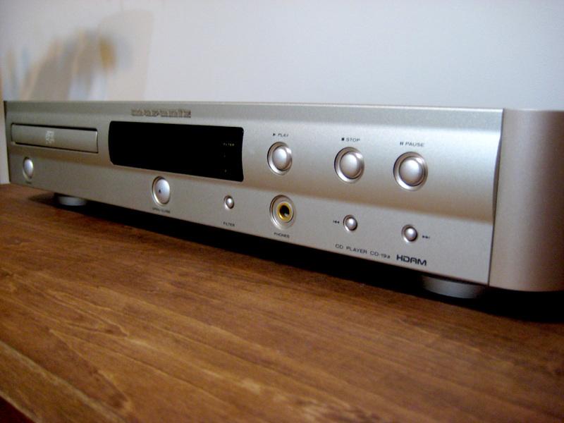 Marantz CD-19a、7万以下で買えるコストパフォーマンスの高いCDプレーヤー。