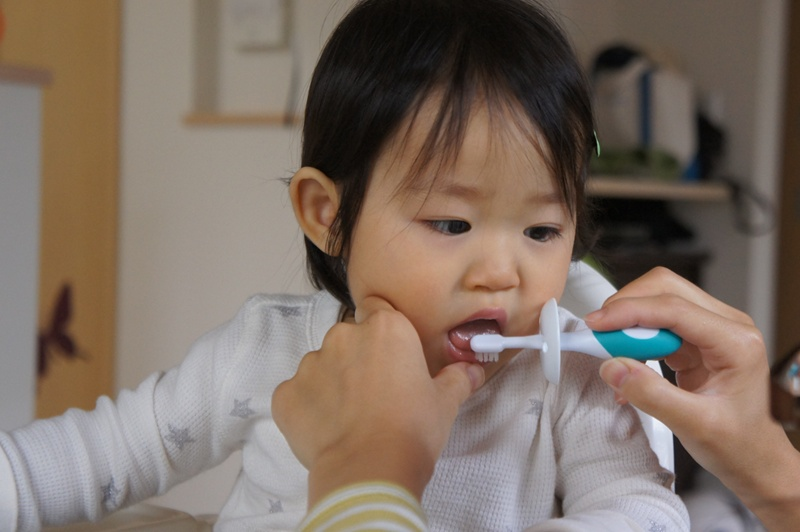 歯磨き上手かな??